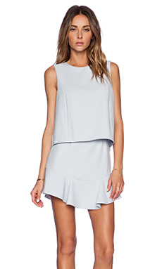 BCBGMAXAZRIA Vivian Dress in Crystal Blue