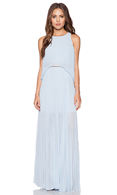 BCBGMAXAZRIA Shaina Dress in Crystal Blue
