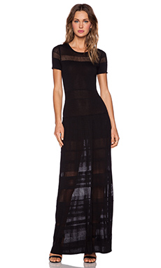 BCBGMAXAZRIA Sydnie Maxi Dress in Black