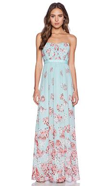 BCBGMAXAZRIA Amber Dress in Aqua Mist Combo