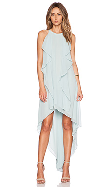 BCBGMAXAZRIA Kelsia Dress in Aqua Mist