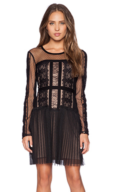 BCBGMAXAZRIA Stef Dress in Black