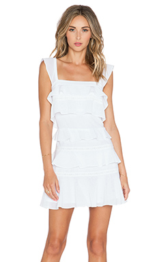 BCBGMAXAZRIA Lalani Dress in White