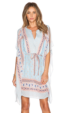 BCBGMAXAZRIA Alexi Dress in Pale Blue Combo