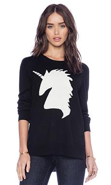 BCBGMAXAZRIA N/A Sweater in Black Combo