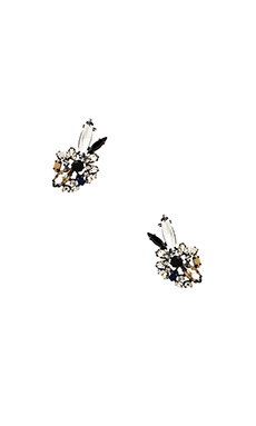 BCBGMAXAZRIA Floral Earrings in Multi