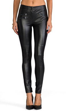 BCBGMAXAZRIA Stephen Pant in Black
