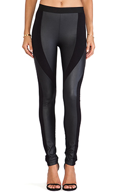 BCBGMAXAZRIA Aaric Combo Leggings in Black