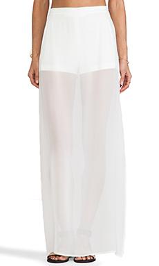 BCBGMAXAZRIA Beshoy Skirt in Off White