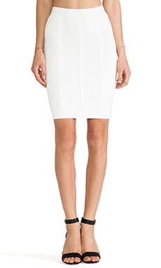 BCBGMAXAZRIA Nita Skirt in Gardenia