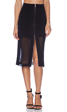 BCBGMAXAZRIA Francesca Skirt in Black