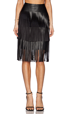 BCBGMAXAZRIA Rashell Skirt in Black
