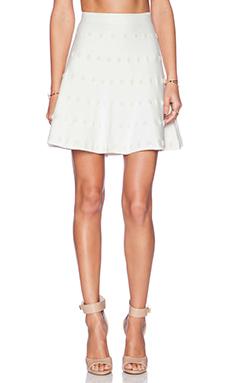 BCBGMAXAZRIA Gloriah Skirt in Gardenia Combo
