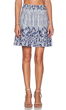 BCBGMAXAZRIA Payton Skirt in Gardenia Combo