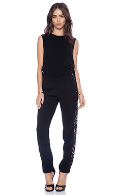 BCBGMAXAZRIA Victorya Jumpsuit in Black