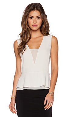 BCBGMAXAZRIA Amerly Top in Dusk