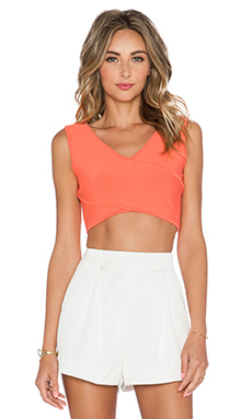 BCBGMAXAZRIA Janelle Crop Top in Ambrosia