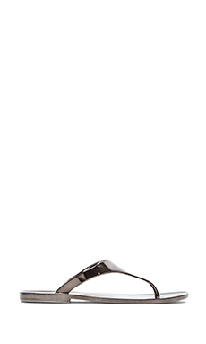 BCBGMAXAZRIA Sabba Metallic Sandal in Gunmetal