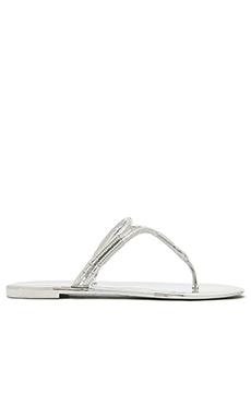 BCBGMAXAZRIA Feld Sandal in Silver