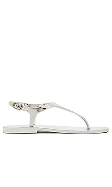 BCBGMAXAZRIA Wish Sandal in Silver