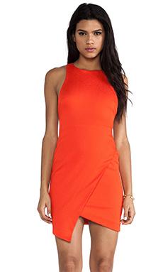 BEC&BRIDGE Isis Angle Dress in Tangerine