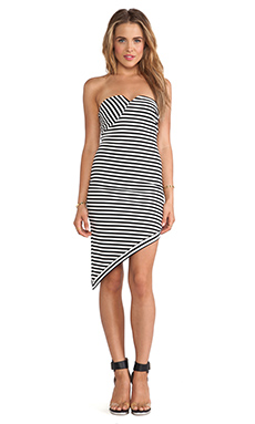 BEC&BRIDGE Zinc Strapless Dress in Stripe