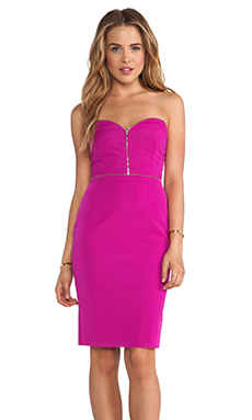 BEC&BRIDGE Argon Bustier Dress in Pink