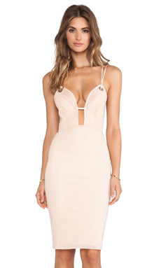 BEC&BRIDGE Highway Rebel Dress in Blush