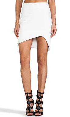 BEC&BRIDGE Bitter & Twisted Skirt in Ivory