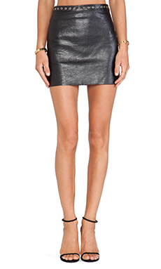 BEC&BRIDGE Easy Rider Skirt in Black