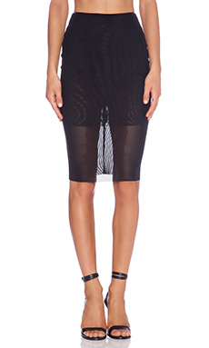BEC&BRIDGE Paradise City Skirt in Black