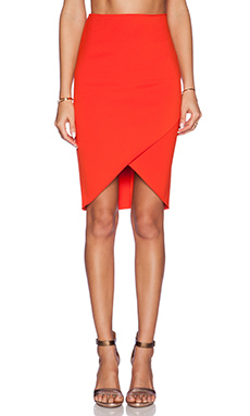 BEC&BRIDGE Drifter Skirt in Fire