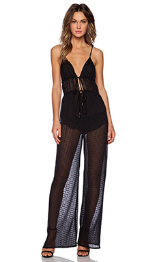 BEC&BRIDGE Nyx Jumpsuit in Black Spot