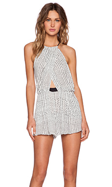 BEC&BRIDGE Atlanta Playsuit in Print