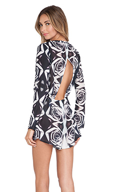 BEC&BRIDGE City of Roses Romper in Print