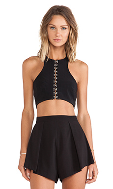 BEC&BRIDGE Stone Free Crop Top