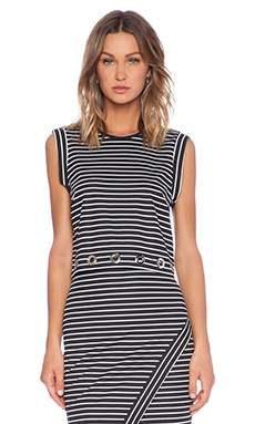BEC&BRIDGE Wanderer Tank in Black Stripe