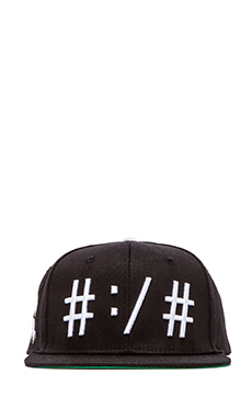 Been Trill Been Troll Eh Hat in Black and White