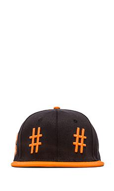 Been Trill Team Hat en Noir et Orange