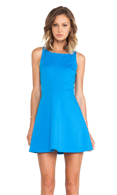 BCBGeneration Fit & Flare Dress in Atlantic