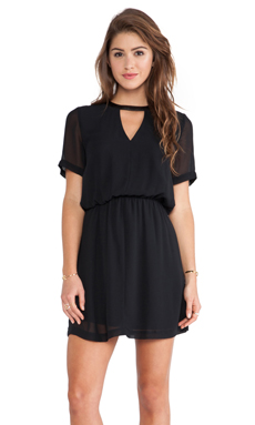 CUT OUT NECKLINE DRESS