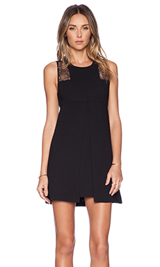 BCBGeneration Racerback Dress in Black