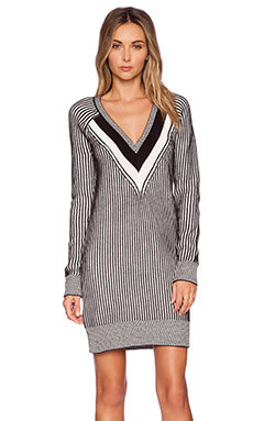 BCBGeneration V Neck Sweater Dress