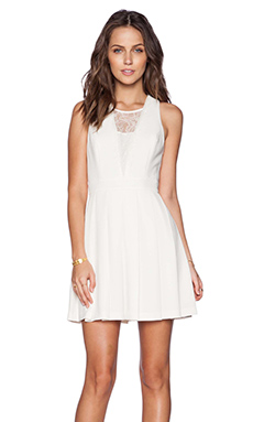BCBGeneration Cocktail Dress in White