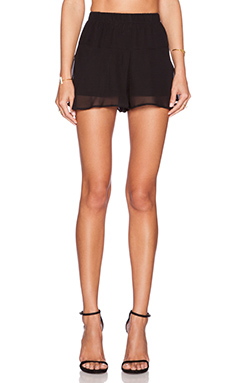 BCBGeneration Flirty Volume Short in Black