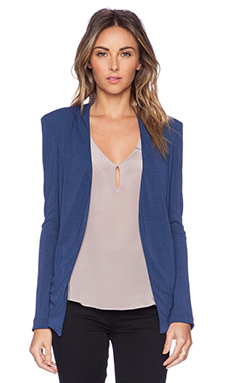 BCBGeneration Tuxedo Blazer in Eclipse Blue