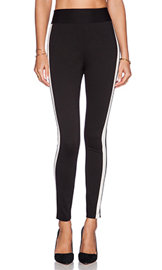 BCBGeneration High Waisted Legging in Black Combo