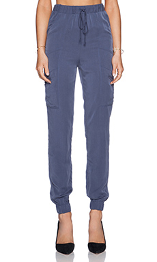 BCBGeneration Utility Jogger Pant in Navy
