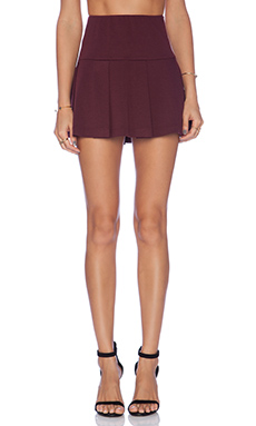BCBGeneration Pleated Mini Skirt in Brulee