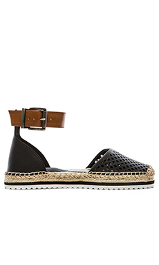 BCBGeneration Felicity Sandal in Black & Toffee